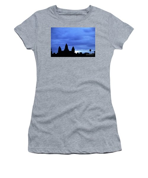 Angkor Wat Sunrise 01 Women's T-Shirt (Athletic Fit)