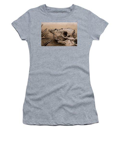 Animal Bones Women's T-Shirt (Athletic Fit)