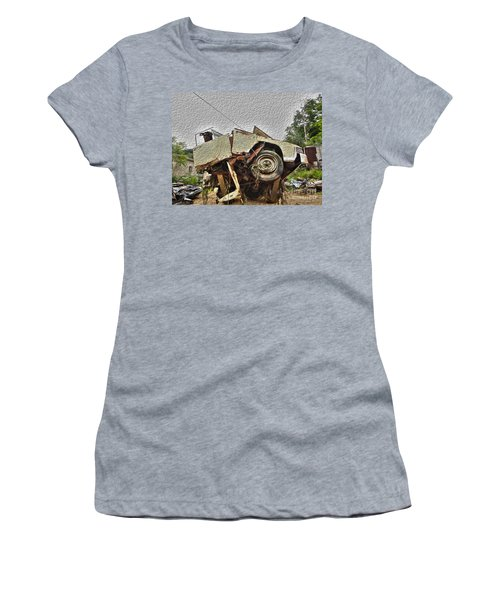 Antiques Broken Women's T-Shirt (Athletic Fit)