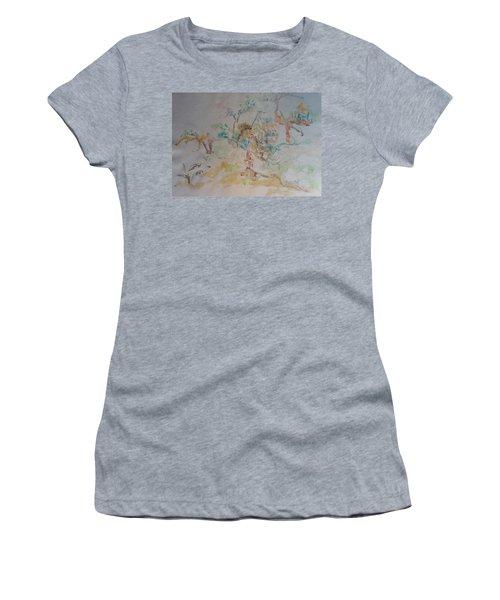 Apple Orchard Women's T-Shirt (Junior Cut) by Esther Newman-Cohen