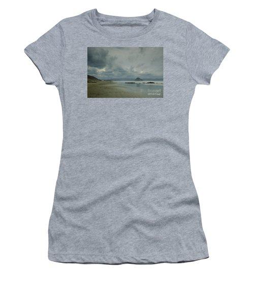 Approaching Storm - Morro Rock Women's T-Shirt (Athletic Fit)