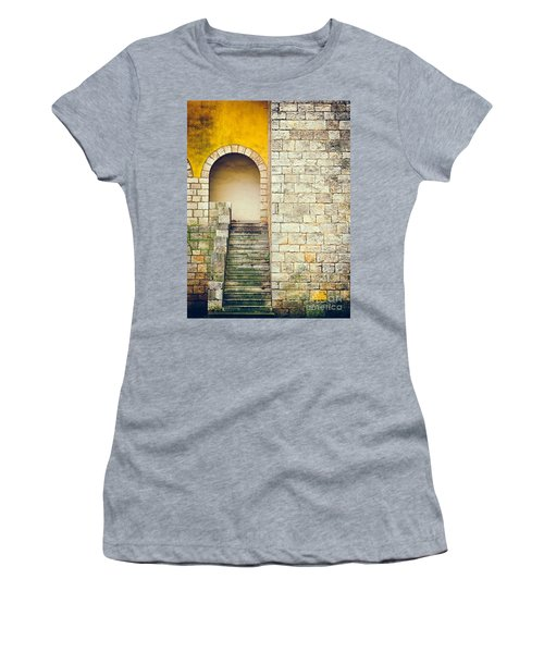 Arched Entrance Women's T-Shirt (Athletic Fit)