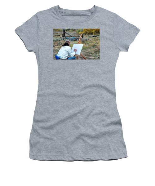Artist Point Women's T-Shirt (Athletic Fit)