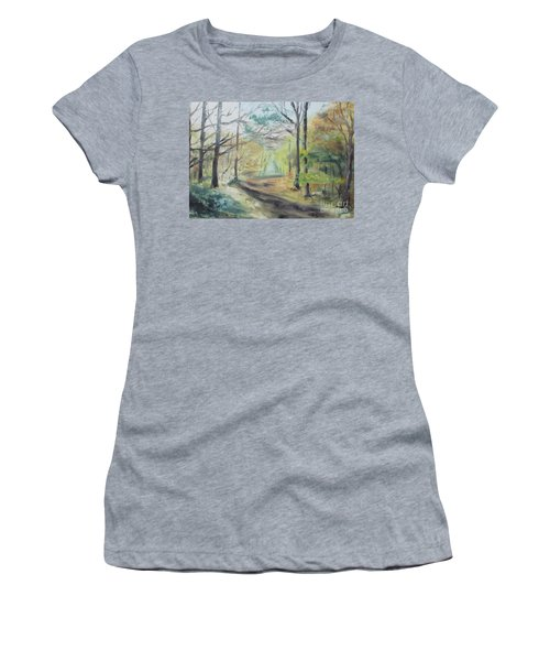 Ashridge Woods 2 Women's T-Shirt (Athletic Fit)