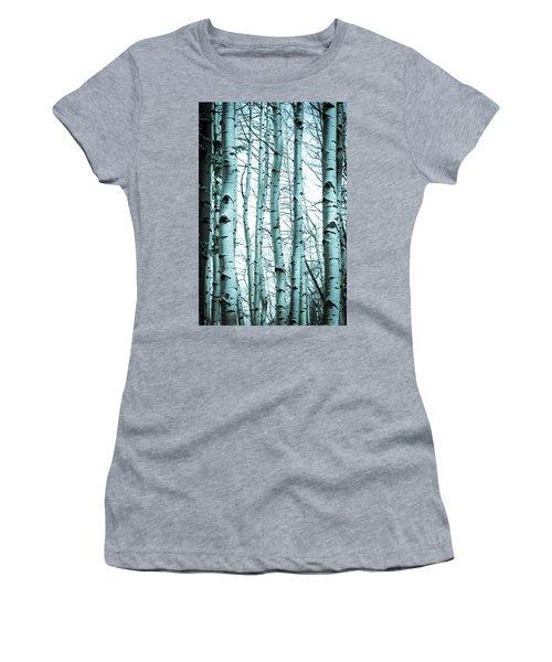 Aspen Blues Women's T-Shirt (Athletic Fit)