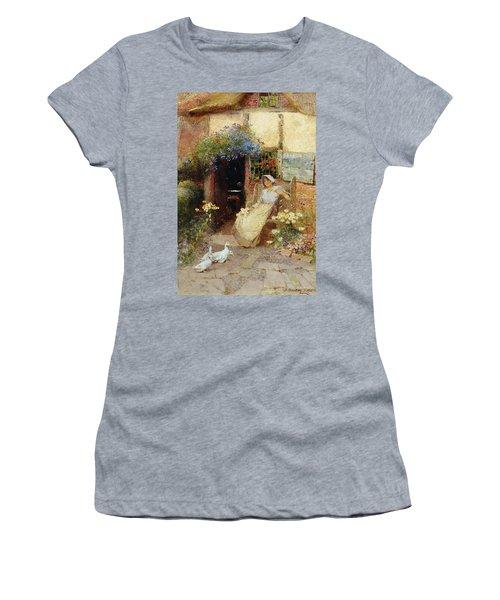 At The Cottage Door Women's T-Shirt