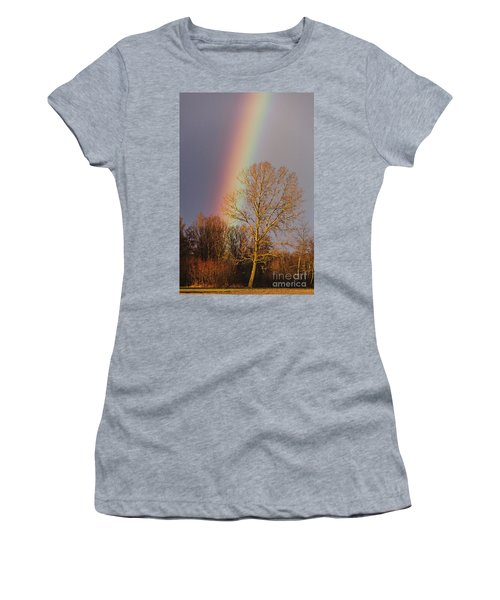 At The End Of The Rainbow Women's T-Shirt