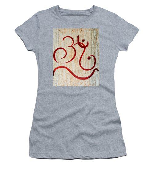 AUM Women's T-Shirt (Athletic Fit)