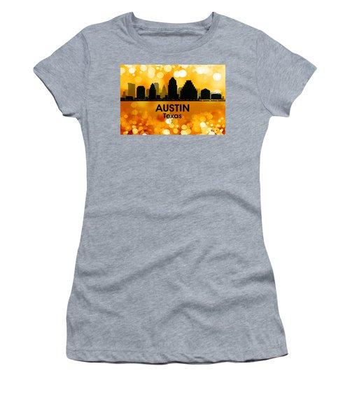 Austin Tx 3 Women's T-Shirt (Athletic Fit)