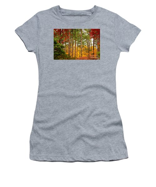 Autumn Canvas Women's T-Shirt (Athletic Fit)