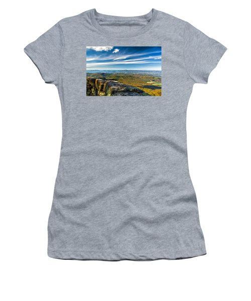 Autumn Colors In The Blue Ridge Mountains Women's T-Shirt