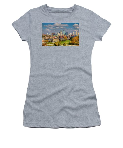 Autumn In Kansas City Women's T-Shirt (Athletic Fit)