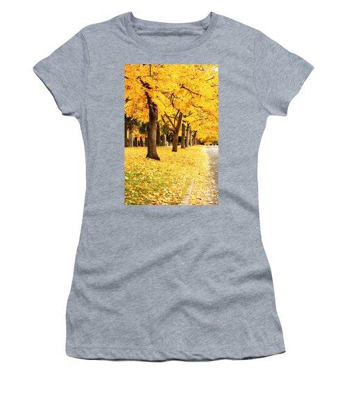 Autumn Perspective Women's T-Shirt