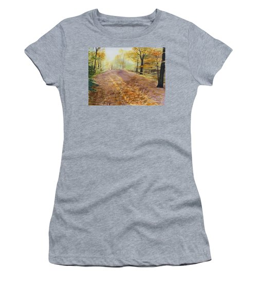 Autumn Sunday Morning Women's T-Shirt (Athletic Fit)