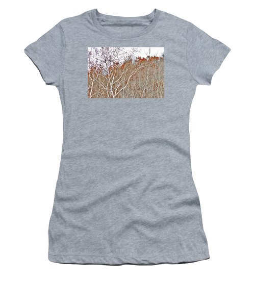 Autumn Sycamores Women's T-Shirt (Athletic Fit)