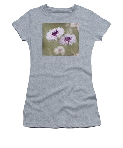 Bachelor Buttons - Flowers Women's T-Shirt