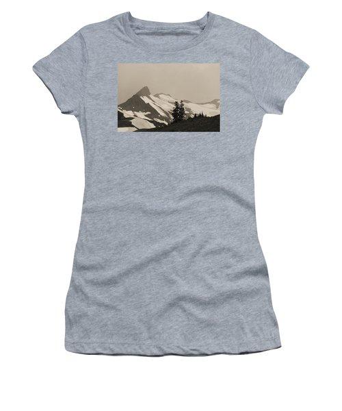 Fog In Mountains Women's T-Shirt