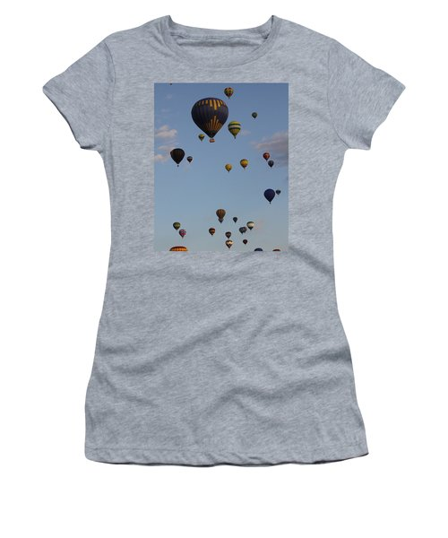 Balloon Festival Women's T-Shirt (Athletic Fit)