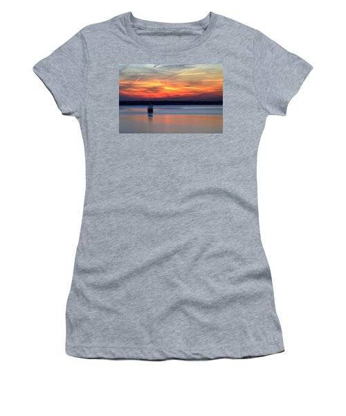 Baltimore Light At Gibson Island Women's T-Shirt (Athletic Fit)