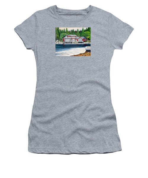 Barkhouse Boatshed Women's T-Shirt (Athletic Fit)
