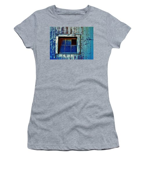 Barn Window 1 Women's T-Shirt (Athletic Fit)