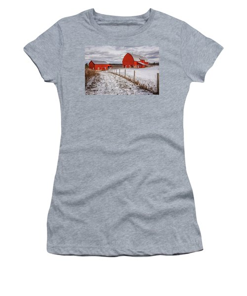 Barns Of New York Women's T-Shirt