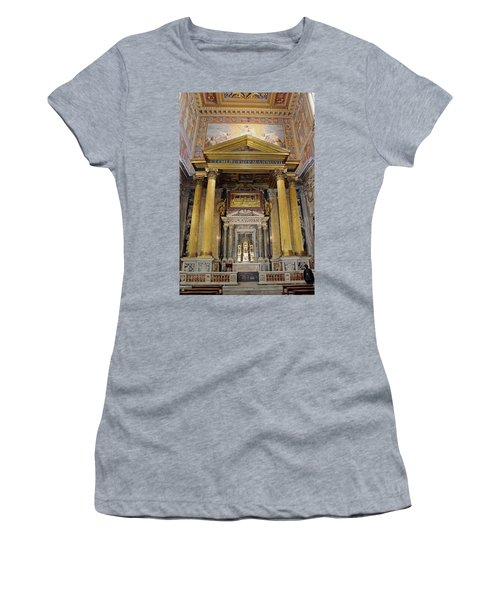 Basilica Of St John Lateran  Women's T-Shirt