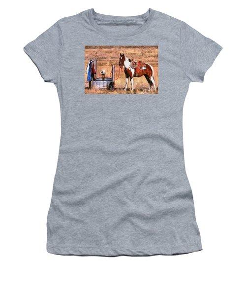 Bathing Cowgirl Women's T-Shirt