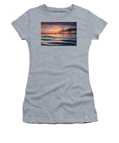 Bay Bridge Silk Women's T-Shirt (Athletic Fit)