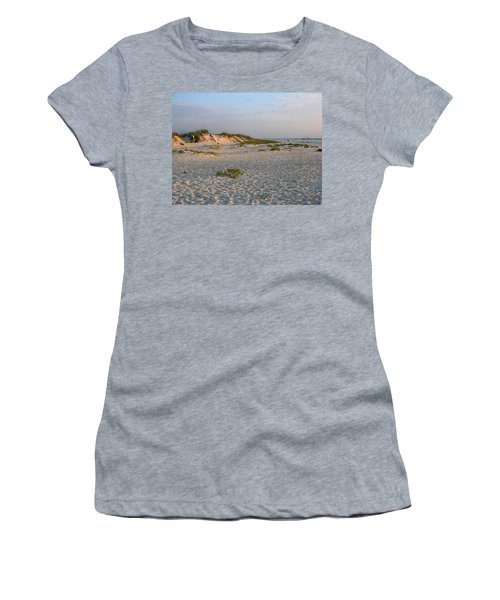 Beach At Sunrise Women's T-Shirt