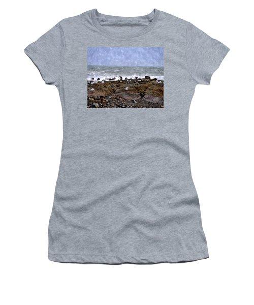 Beach Goers Bgwc Women's T-Shirt (Athletic Fit)