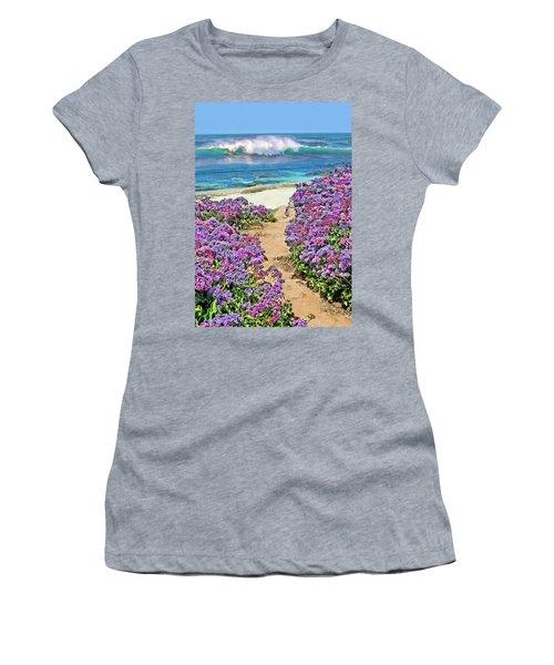 Beach Pathway Women's T-Shirt