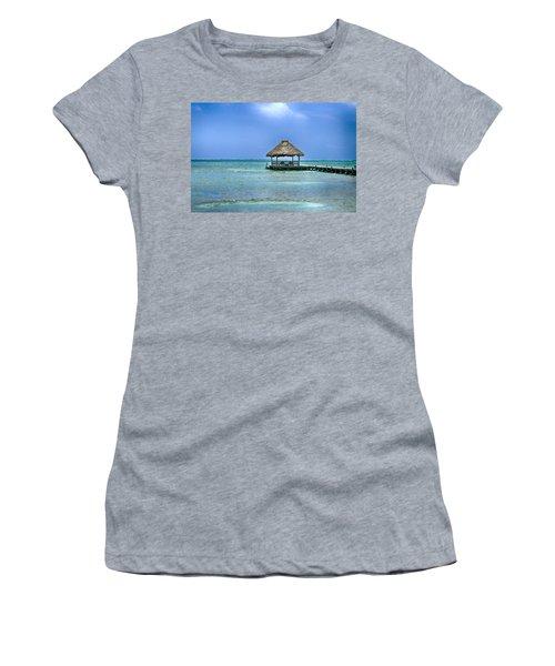 Beautiful Belize Women's T-Shirt (Athletic Fit)