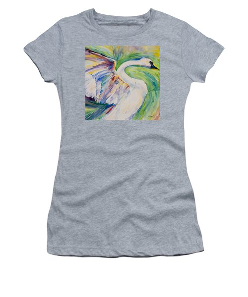 Beauty And Grace - Original Watercolor Painting Women's T-Shirt