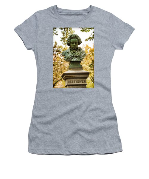 Beethoven In Central Park Women's T-Shirt