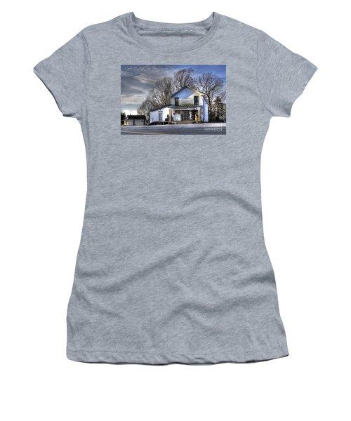 Before Walmart Women's T-Shirt (Junior Cut) by Benanne Stiens