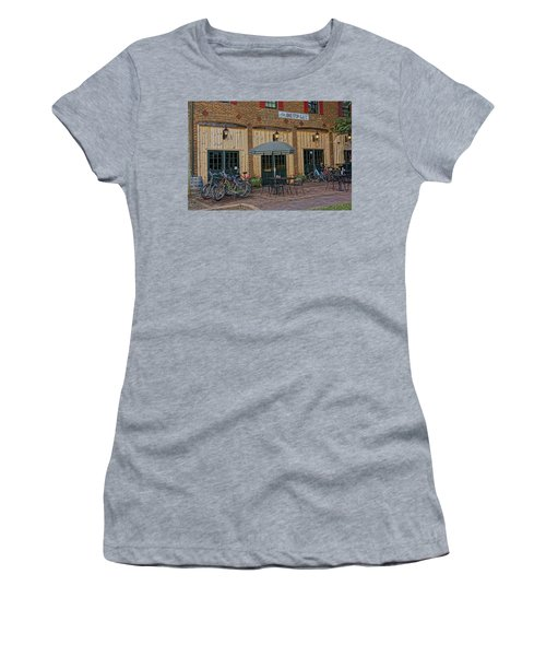 Bike Shop Cafe Katty Trail St Charles Mo Dsc00860 Women's T-Shirt (Athletic Fit)