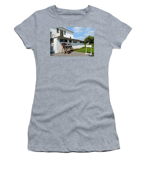 Birdhouses And Feeders For Sale Women's T-Shirt (Athletic Fit)