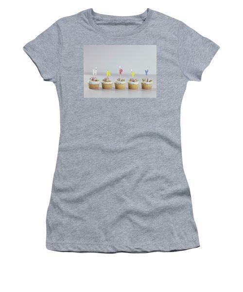 Birthday Cupcakes Women's T-Shirt