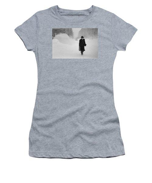 Blizzard On Park Avenue Women's T-Shirt