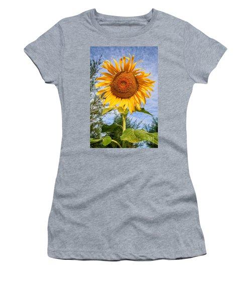 Blooming Sunflower V2 Women's T-Shirt