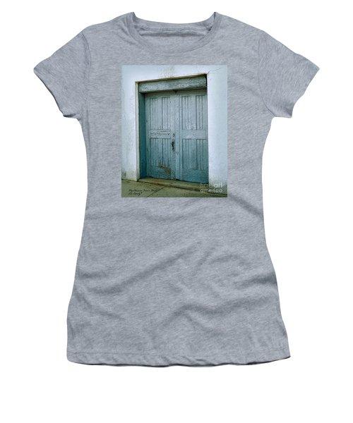 Blue Doors On Brewer Street Women's T-Shirt