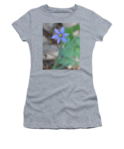 Blue Flower Women's T-Shirt