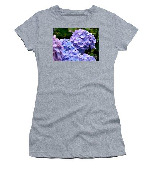 Blue Hydrangea Women's T-Shirt
