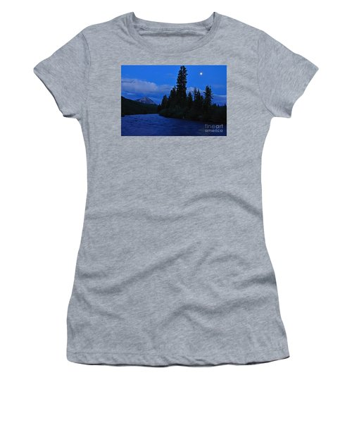Blue Missing You Women's T-Shirt (Athletic Fit)