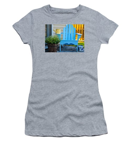 Blue Repose  Women's T-Shirt (Athletic Fit)