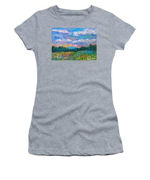 Blue Ridge Wildflowers Women's T-Shirt
