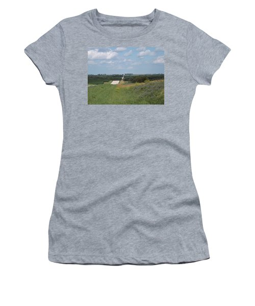 Blue Skies Women's T-Shirt (Athletic Fit)
