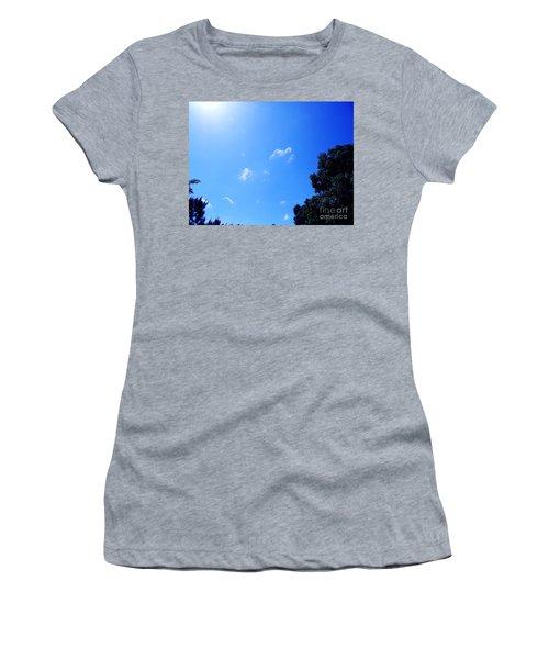 Blue Sky And Sunshine Women's T-Shirt