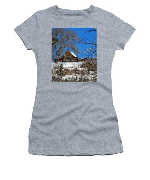 Blue Sky Women's T-Shirt (Athletic Fit)